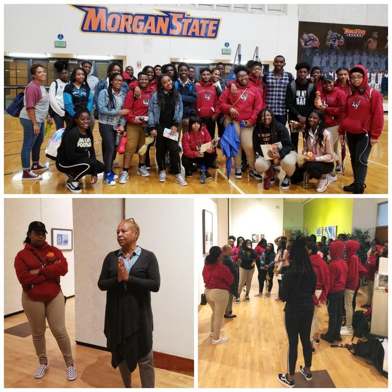 Seniors Visit Morgan State University and Tour James E. Lewis Museum of Art Thumbnail Image