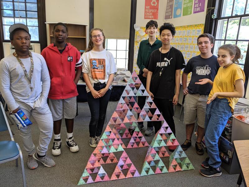 Sierpinski Triangle Featured Photo