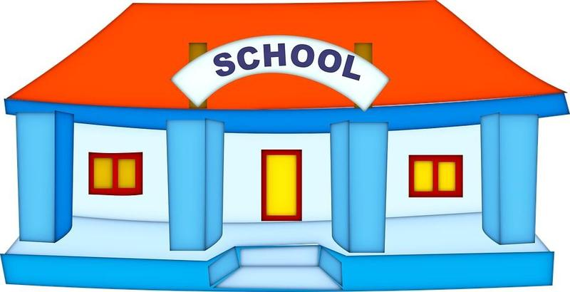Graphic of a school