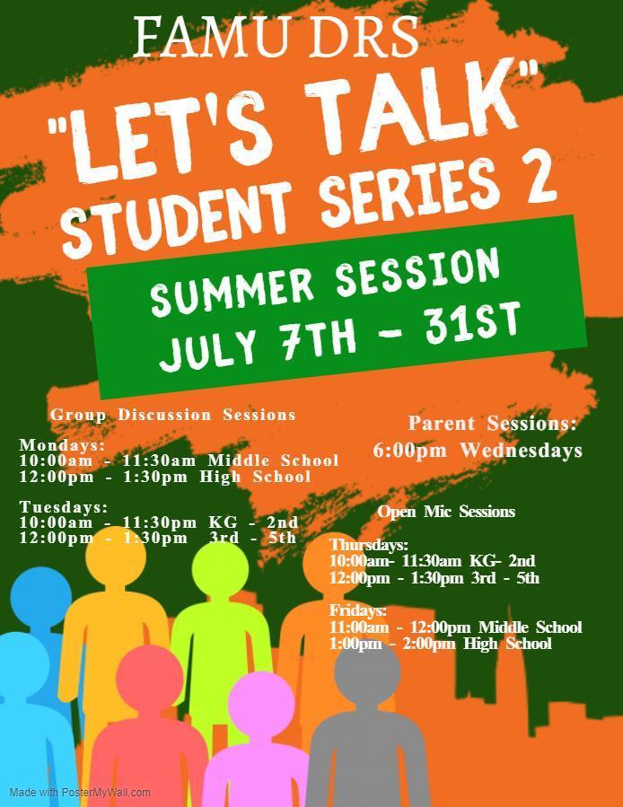 Let's Talk Flyer
