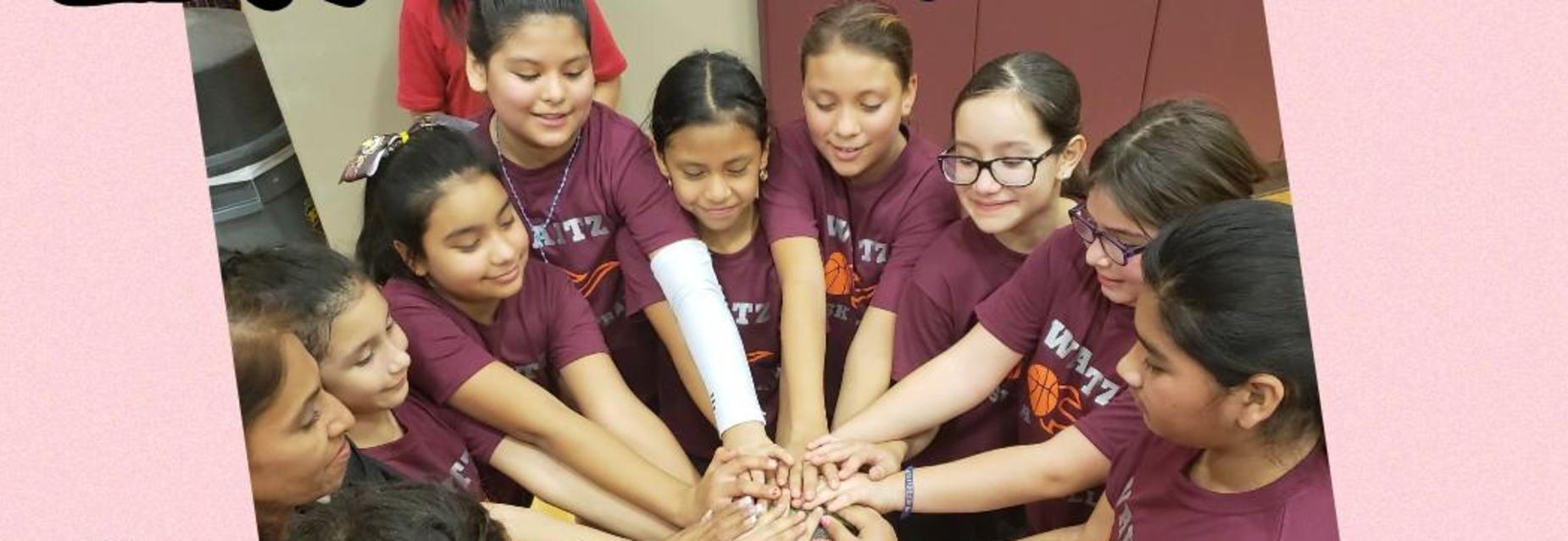 Girls basket ball team