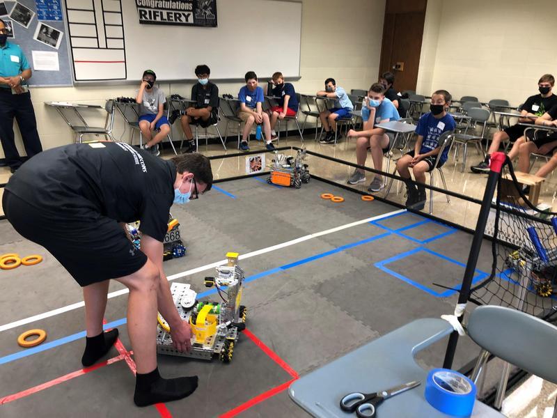 Xavier robotics camp 2021