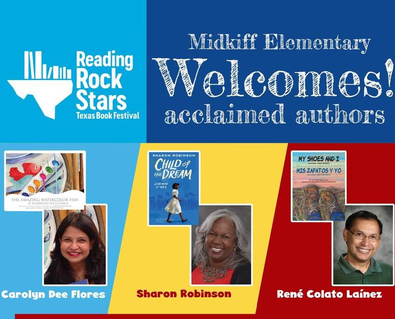 Midkiff Welcomes Reading Rock Stars Authors! Featured Photo