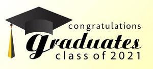 Congratulations graduates class of 2021