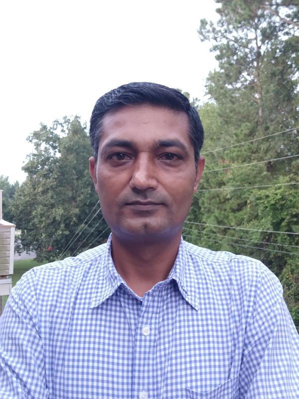 Mr. Kumar, new Math Teacher