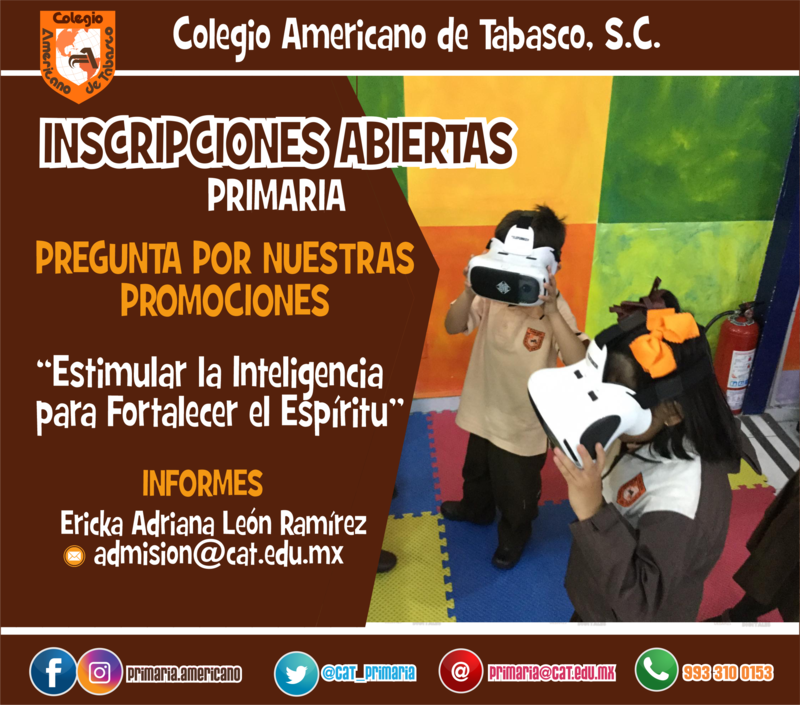 PRIMARIA: INSCRIPCIONES ABIERTAS Featured Photo