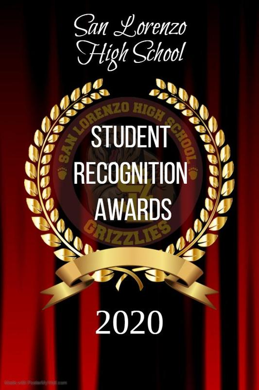 SLZHS 2020 Student Recognition Awards Featured Photo