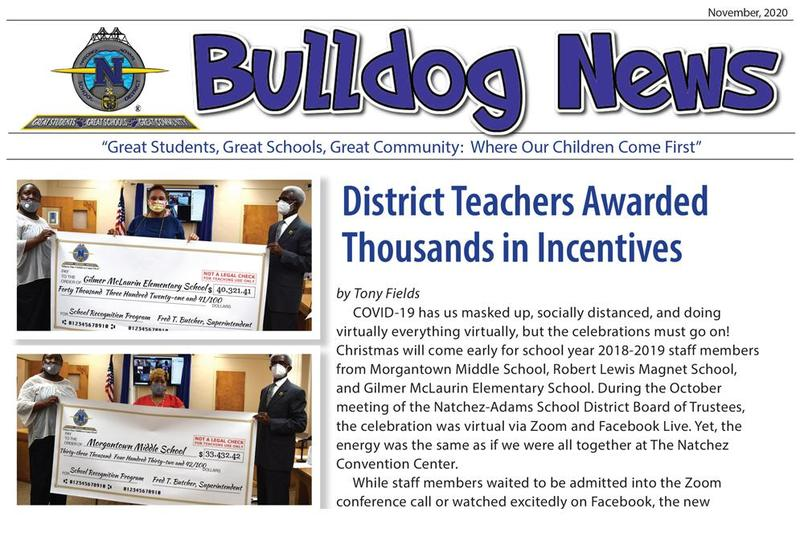 November 2020 Bulldog News