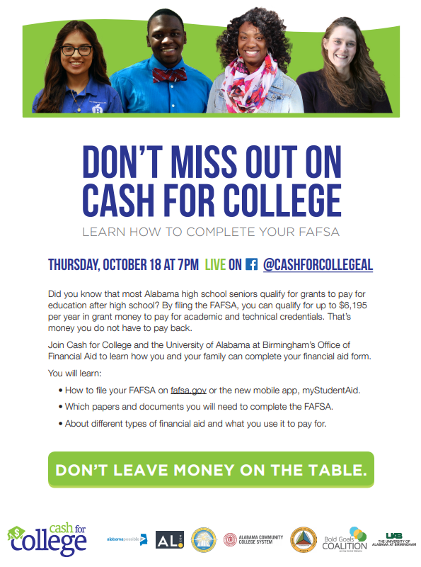 Cash for College Image