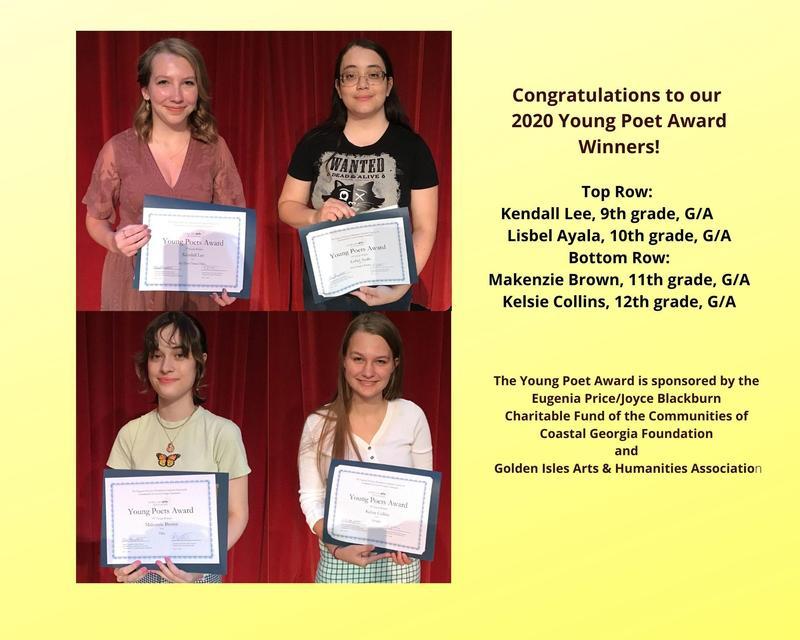 2020 Young Poet Award Winners