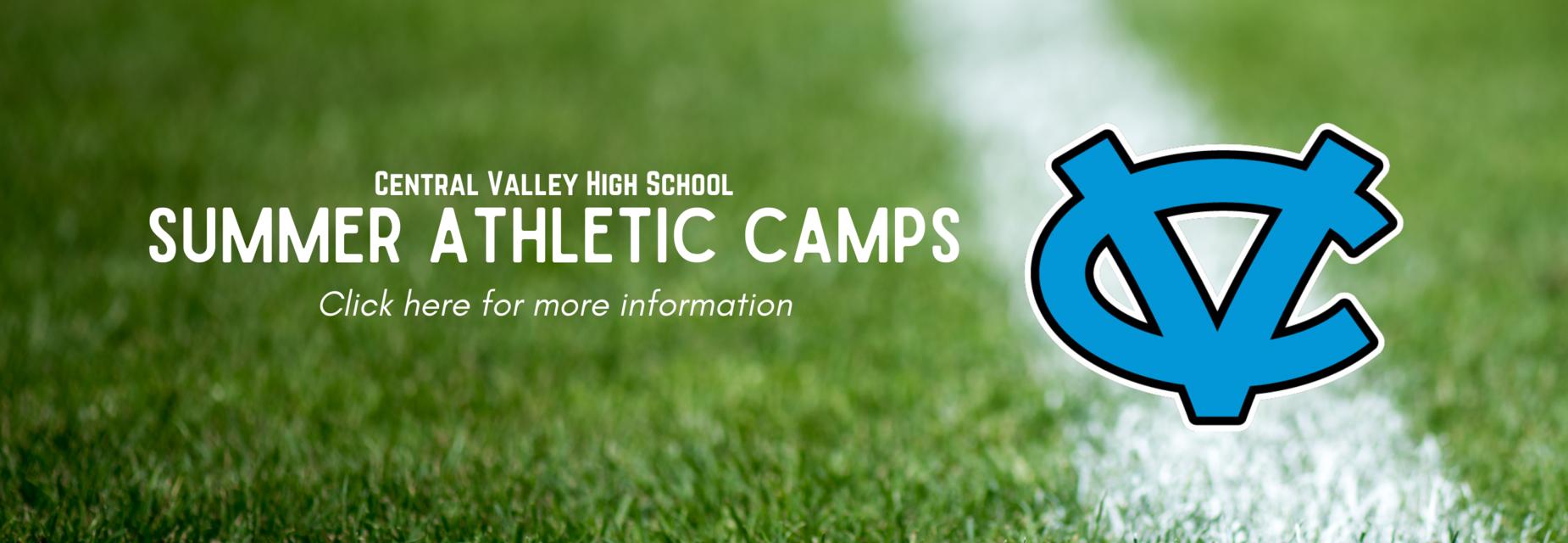 cv summer athletic camp
