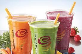 Jamba Juice Smoothies