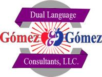 Gomez & Gomez Dual Language Consultants logo