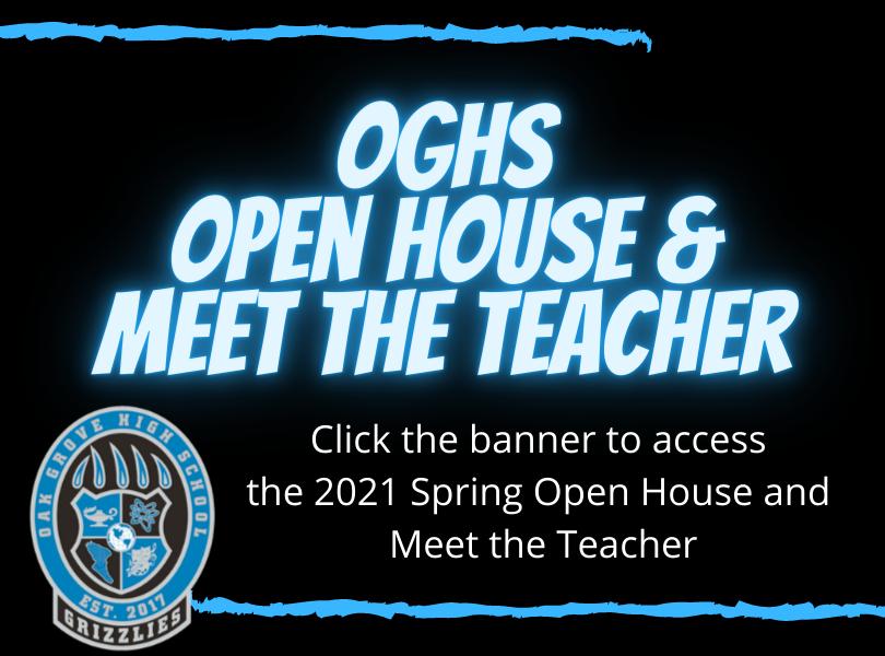 Spring 2021 Open House
