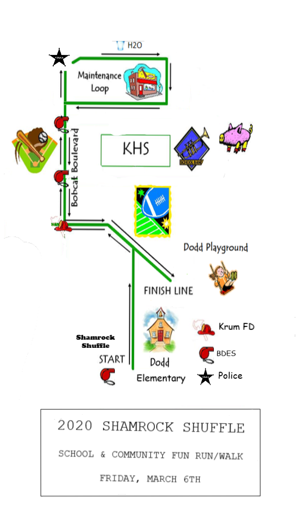2nd and 3rd grade route