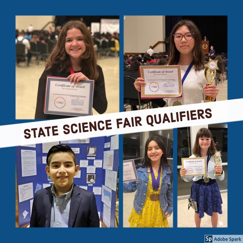 Texas Science & Engineering Fair Qualifiers