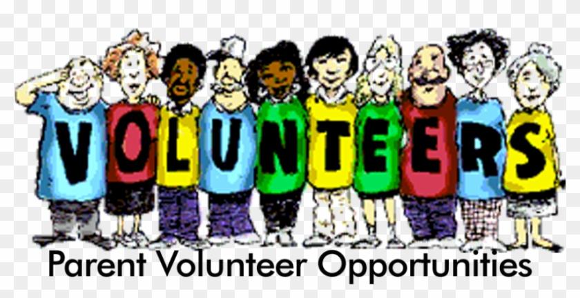 Parent Volunteer Opportunities