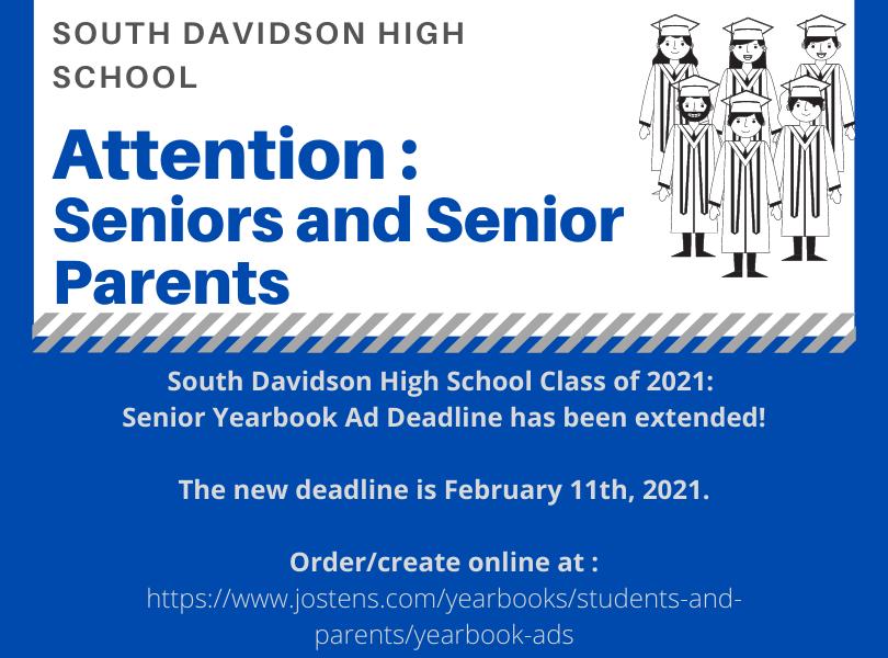 Senior Ad Deadline Extension