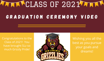 Class of 2021 Graduation Ceremony Video Featured Photo