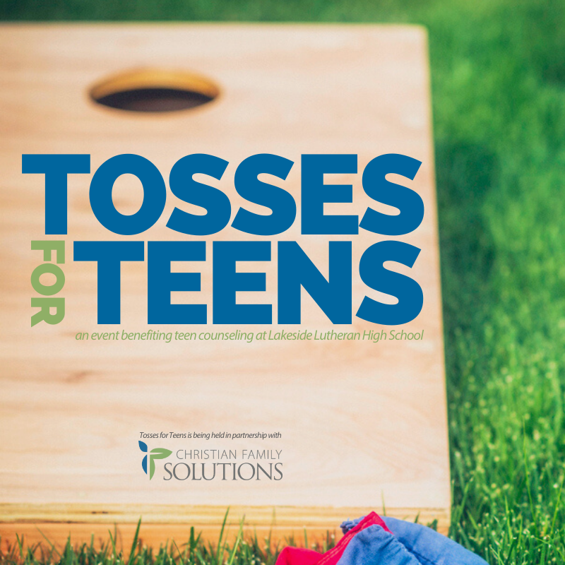 Tosses for Teens logo