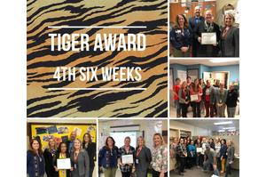 4th Six Weeks Tiger Award