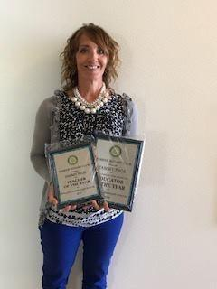 District teacher of the year 2019