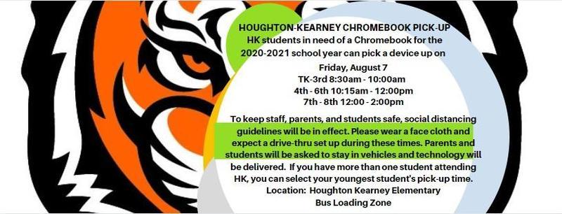 Houghton-Kearny Chromebook Pick-up
