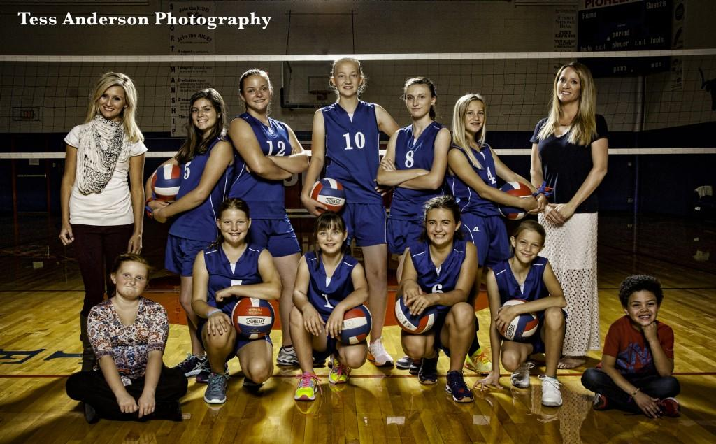 Middle School Volleyball Team