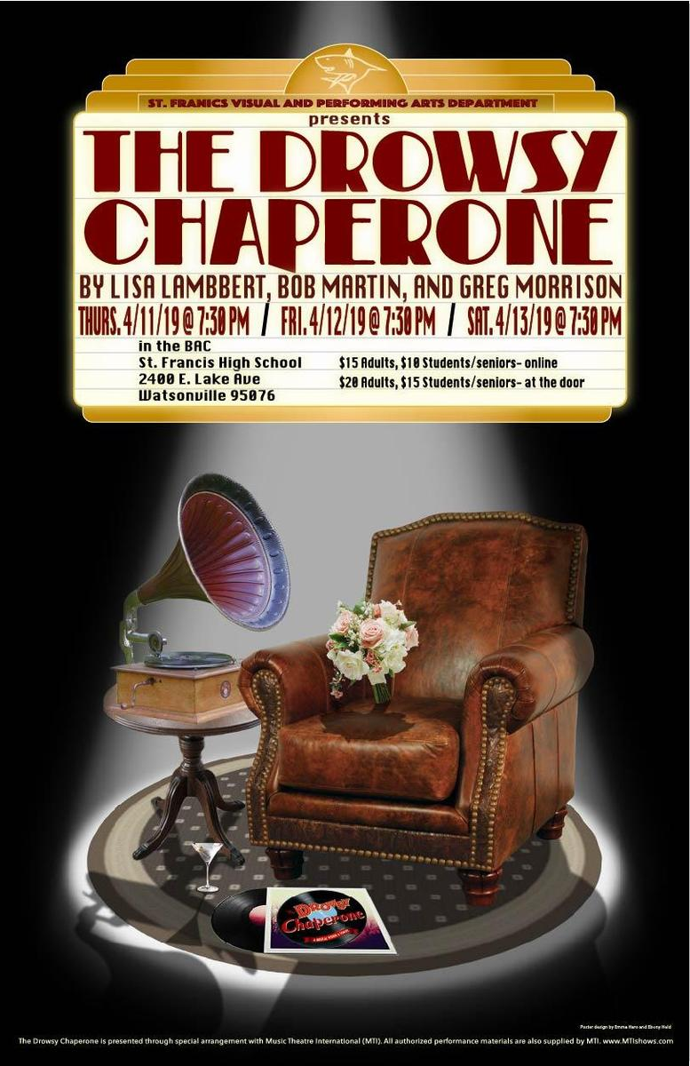 """Poster of """"The Drowsy Chaperone"""""""
