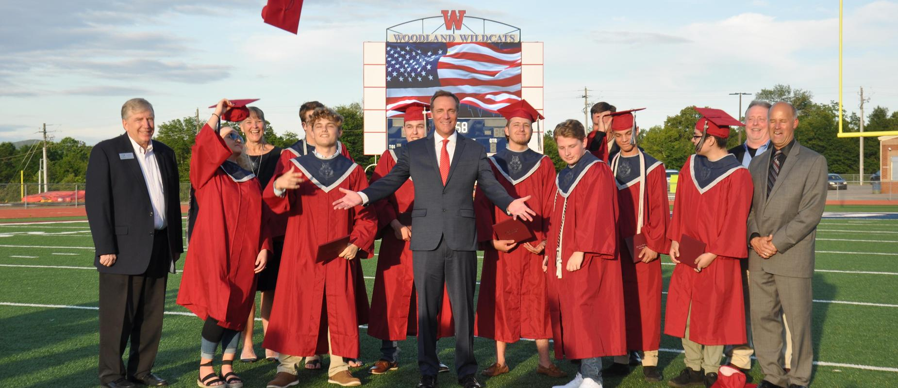 WHS Military Senior Graduation