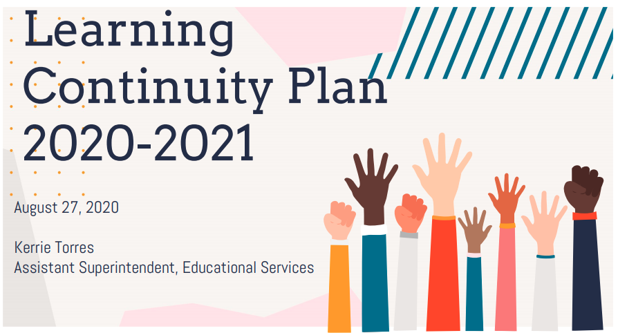 Board Meeting Presentaiton 8-27-2020