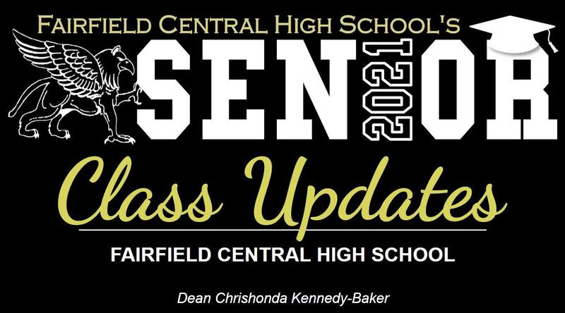 FCHS Senior Class 2021 Updates- Dean Chrishonda Kennedy-Baker