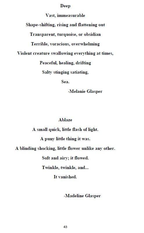 Poetry Featured in Literary Magazine | 2018