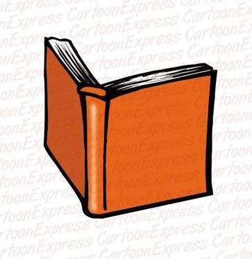 Open Book Graphic