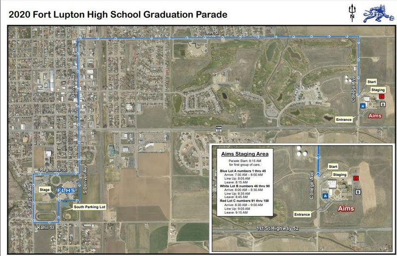 FLHS Graduation Parade Route