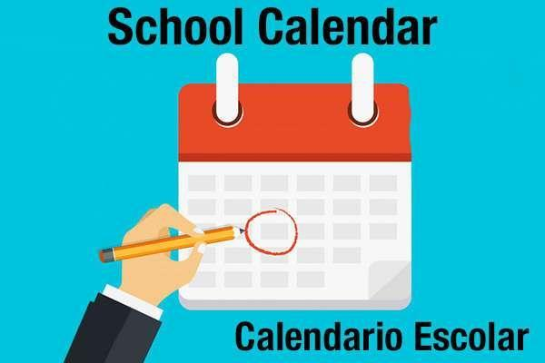 Updated 2019-20 School Calendar & Hours as of 10.15.19 Featured Photo