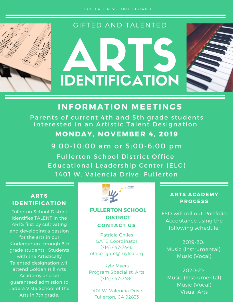 Information Meeting Flyer