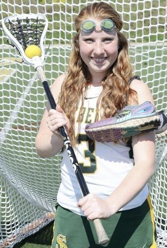 Girls Lacrosse posed photo