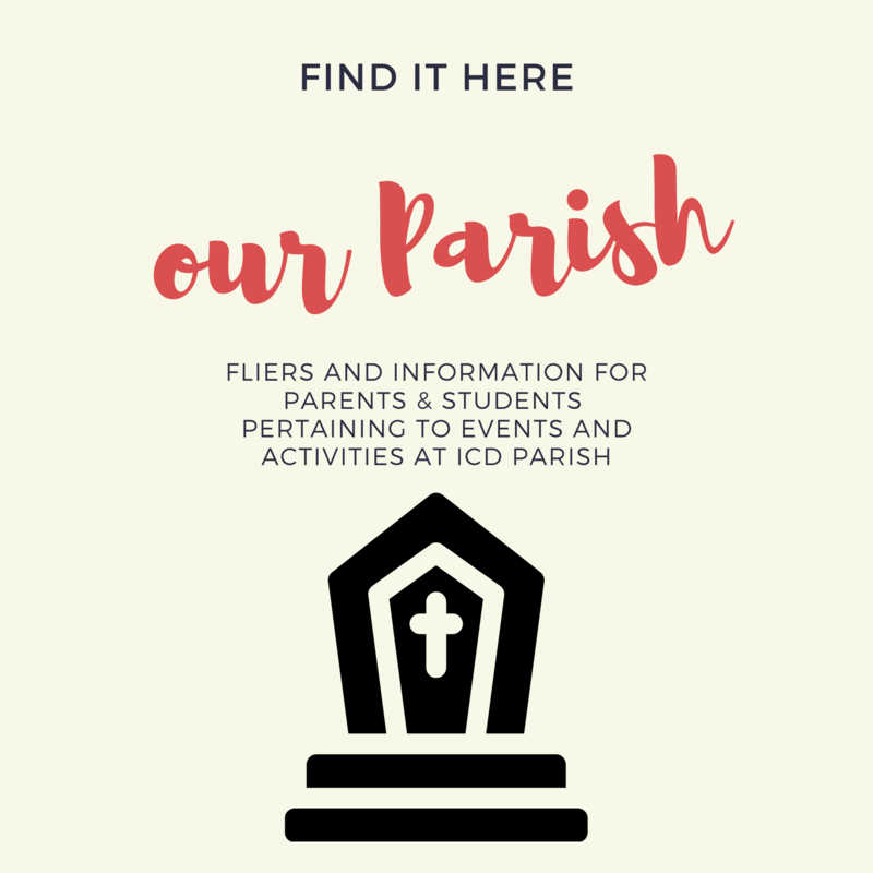 Weekly updates about happenings in our Parish... Featured Photo