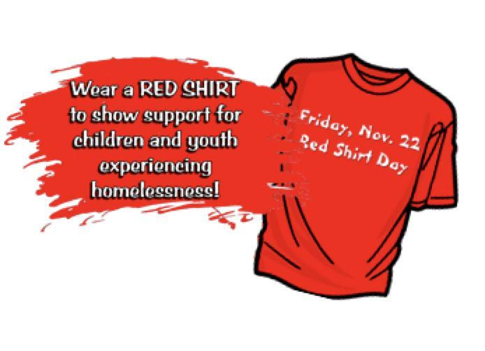 Red Shirt Day To Be Observed on Friday, November 22, 2019 Featured Photo