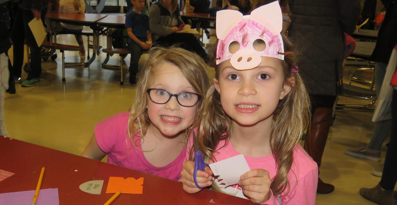 Families enjoyed crafts and reading fun at Lee's Camp Read-A-Lot.