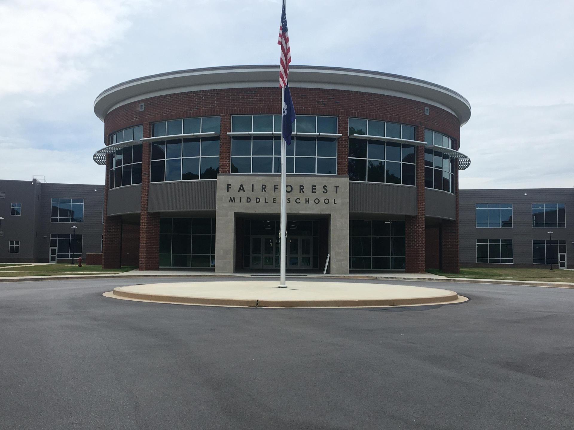 new school front