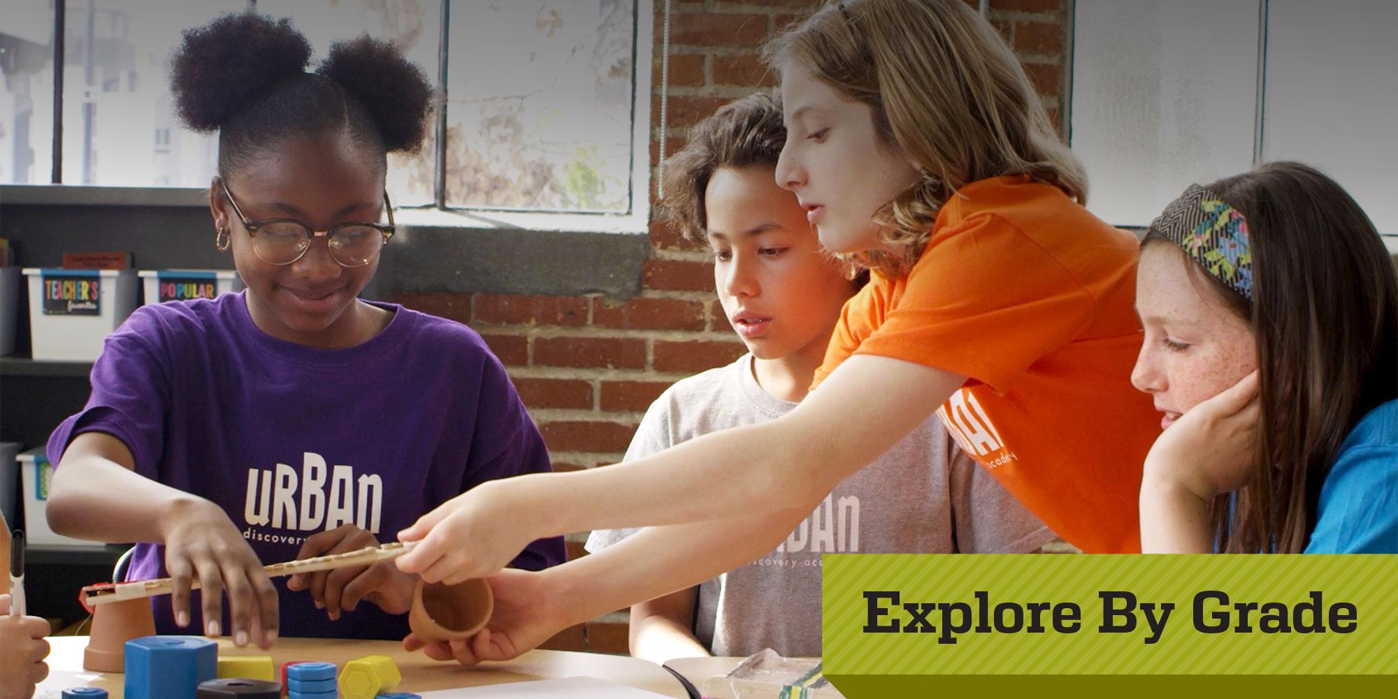 Urban Discovery Schools - Explore By Grade