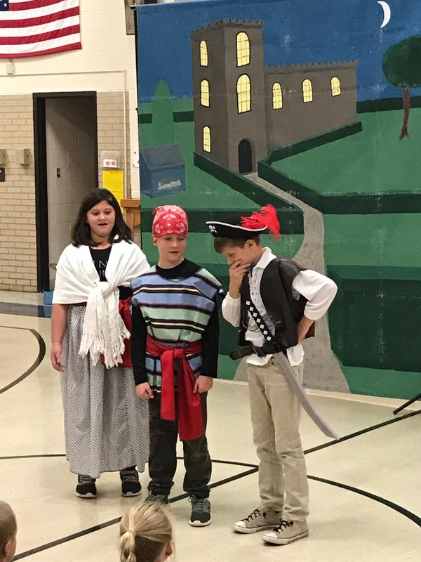 Ruth, Frederick and the Pirate King
