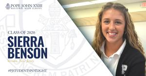 PJ Student Spotlight Sierra Benson