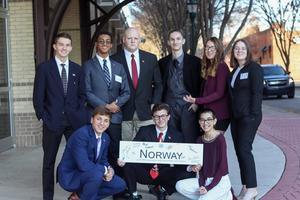 Norway delegation