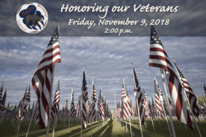 Brentwood Veterans Day Assembly November 9 2018