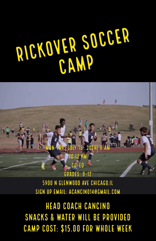 Boy's Soccer Summer Camp pg1