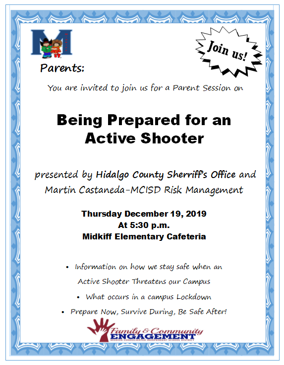 Active Shooter Presentation for Parents Featured Photo