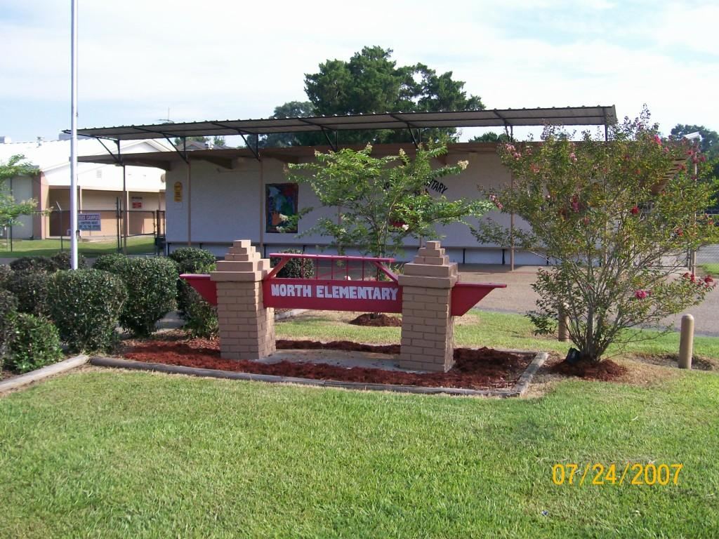 Front of our school campus